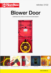 Broschyr om Blower Door – retrotec 5102