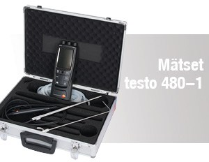 Multifunktionsinstrument – Mätset 1 – testo 480