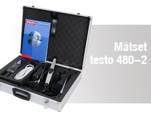 Multifunktionsinstrument – Mätset 2 – testo 480