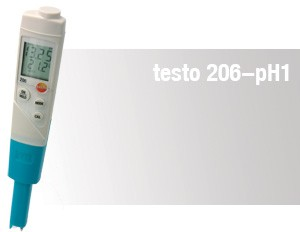 pH / Vattenanalys testo 206-pH1