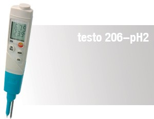 pH / Vattenanalys testo 206-pH2