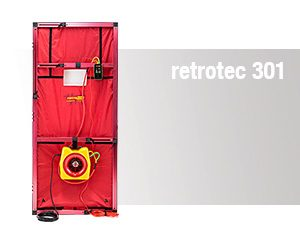 Blower Door – retrotec 301