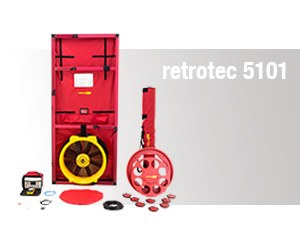 Blower Door – retrotec 5101